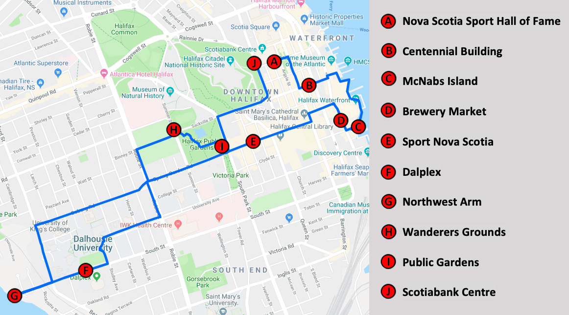 Halifax Sport Heritage Walk | Nova Scotia Sport Hall of Fame